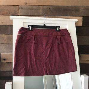 Lole Purple Heather SPF 50+ Stretch Skirt XL